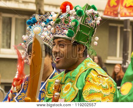 The Chinese New Year Parade, Paris, France.
