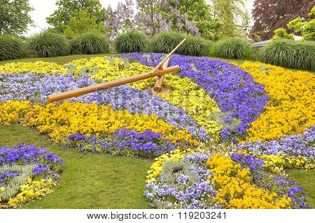 Floral Clock. Geneva