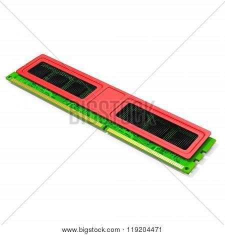3D Computer Ram Memory Module