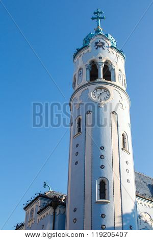 Blue Church Tower, Bratislava, Slovakia