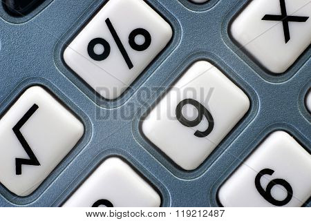 Keyboard of the calculator,macro
