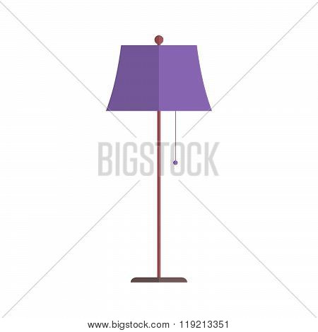 Floor Lamp Vector.