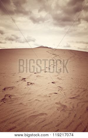 Dune Of Pilat, The Tallest Sand Dune In Europe