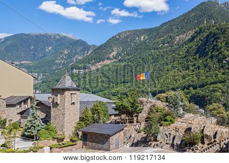Andorra La Vella Surrounded By Beautiful Mountains