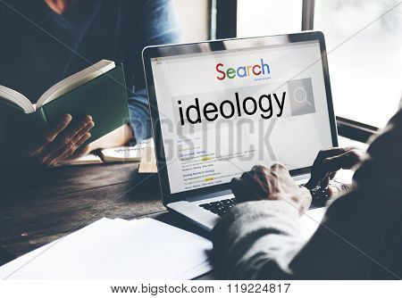 Ideology Iedals Philosophy Teaching Theory Concept