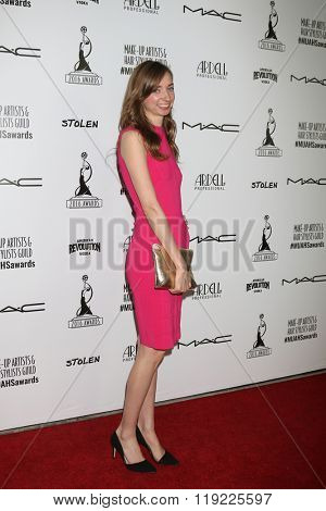 LOS ANGELES - FEB 20:  Lauren Lapkus at the Make-Up Artists And Hair Stylists Guild Awards at the Paramount Studios on February 20, 2016 in Los Angeles, CA