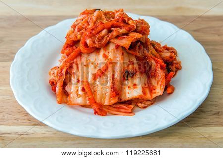 Kimchi Korean Food.