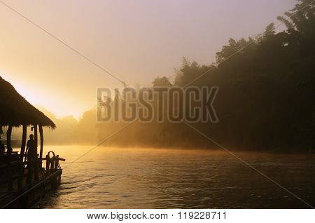 Sunrise On Kwai River