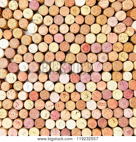 Lots of wine corks