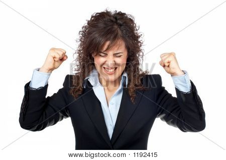 Angered Businesswoman