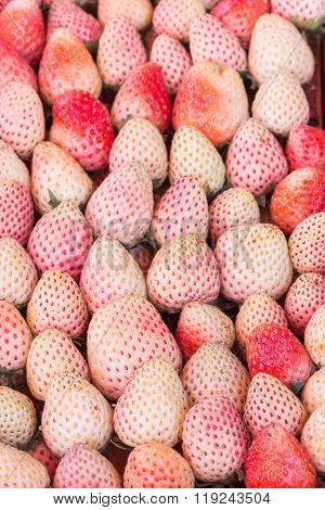 Pile Of Strawberry, For Backgrounds And Textures