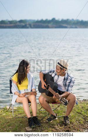Dating at lake