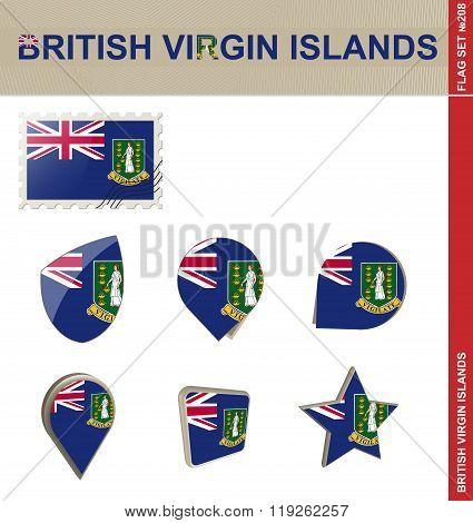 British Virgin Islands Flag Set, Flag Set
