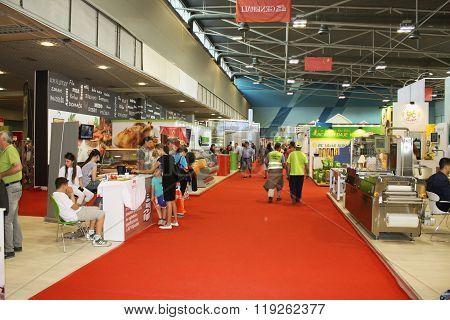 Novi Sad, Serbia - the Fair