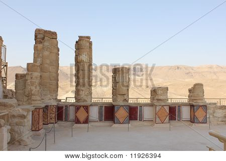 Herods Palace in Masada