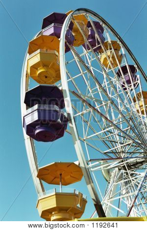 Ferris Wheel Close Up 1