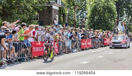 The Cyclist Luca Paolini - Tour De France 2015