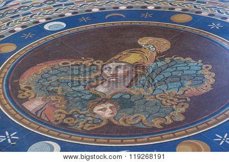 Vatican Museum Mosaics