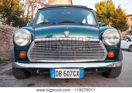 Austin Mini Cooper Mk Iii Front View
