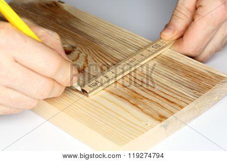 Write On Wooden Board