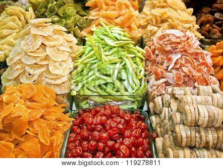 Turkish delights. Spice Bazaar in Istanbul