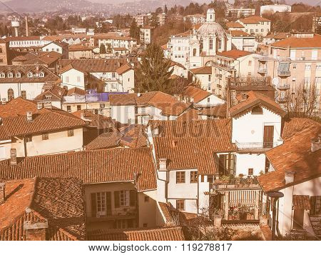 Chieri Aerial View Vintage