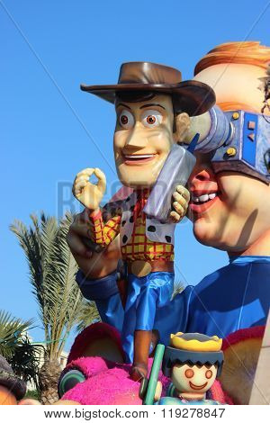 Sheriff Woody - Carnival Of Nice 2016