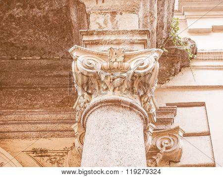 Ionic Capital Vintage