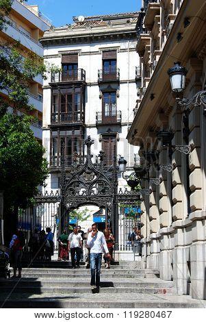 City centre passageway, Granada.
