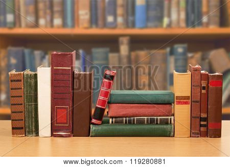 Library Books.