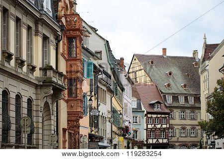 Traditional Buildings In Colmar