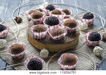 homemade chocolate candys