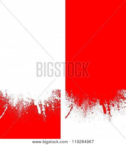 Blot Rad-white background