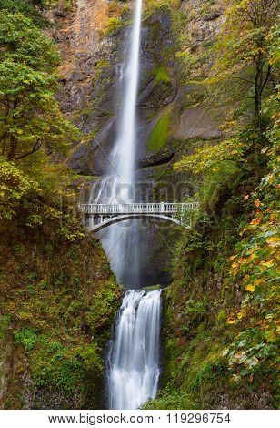 Multnomah Falls view