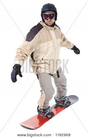 Snowbarder
