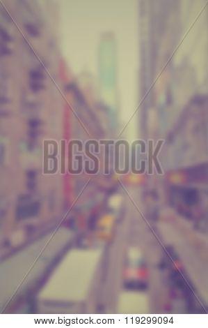 Blur Cityscape 2