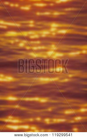 Blur Golden Ripples