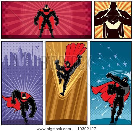 Superhero Banners 5