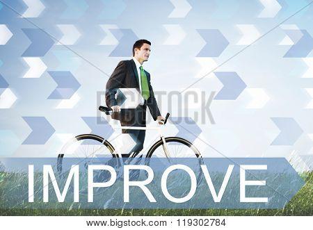 Improve Improvement Development Better Change Concept