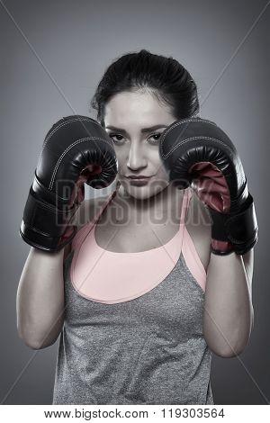 Kickboxer Girl