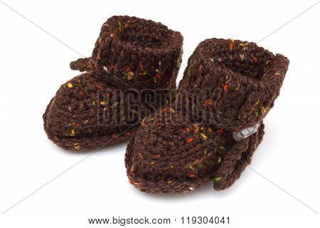 Autumn Crochet Handmade Baby Booties