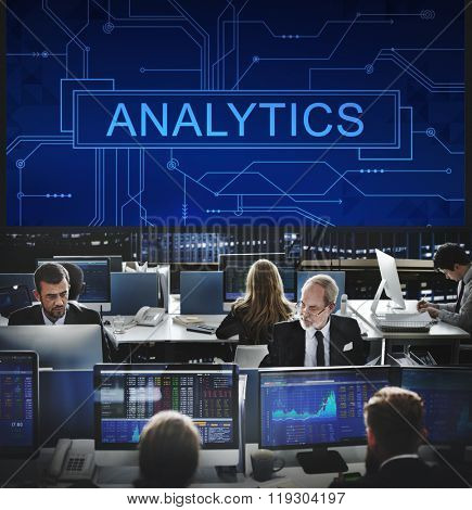 Analytics Analyze Data Analysis Informaion Research Concept