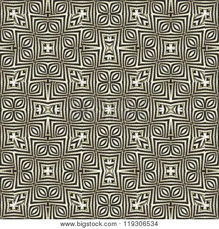 Ethnic Geometric Ornate Seamless Pattern