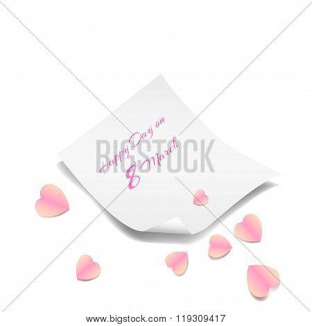 8 March International Women's Day congratulatory letter