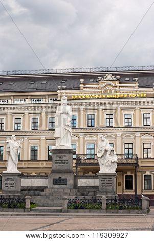 Monument to Princess Olga, Kiev Ukraine