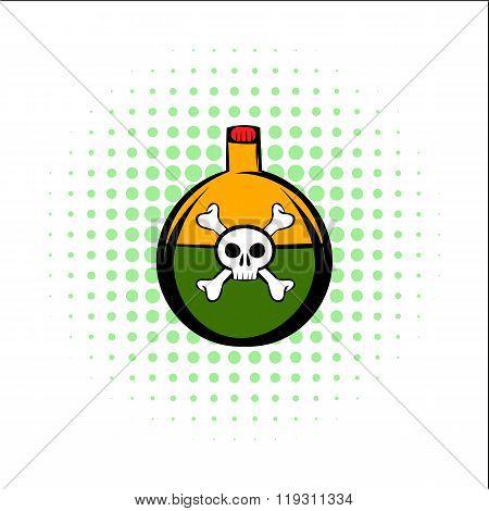 Poison comics icon