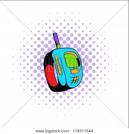 Transmitter comics icon