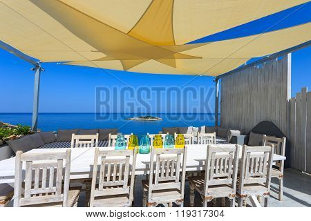 Big Table By The Sea