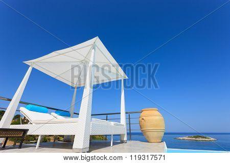 Big Luxury Pool With Cazebo