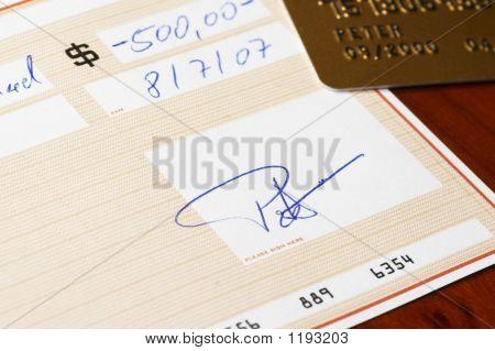 Verificação de banco com cartão de crédito